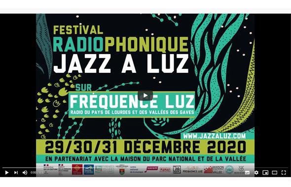 Teaser Jazz à Luz festival radiophonique